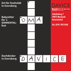 DAVICE – Gimmental 2004
